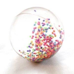 Vandbold med perler